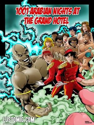 Porn Comics - 1001 Arabian Nights At The Grand Hotel Porncomics