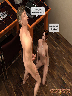 Porn Comics - 3DIncest- To suck member of chief  (3D Porn Comics)