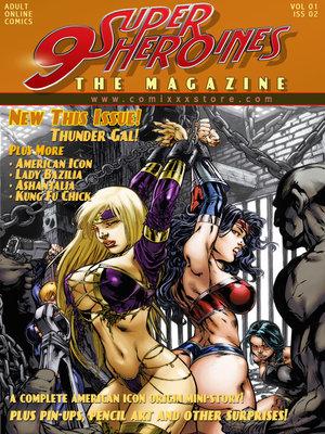 Porn Comics - 9 Super Heroines -The Magazine 2  (Porncomics)
