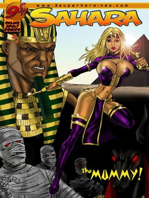 Porn Comics - 9SuperHeroine- Sahara 2 The Mummy  (Porncomics)