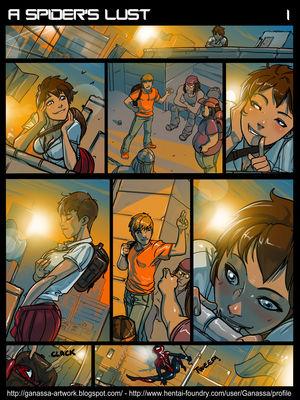 Porn Comics - A Spider's Lust (Spider-Man)  (Adult Comics)