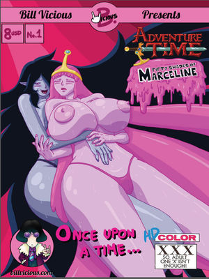 Porn Comics - Adventure Time- 50 Shades of Marceline Hentai Manga