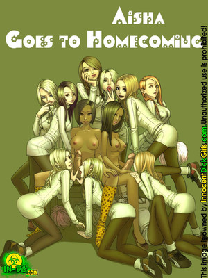 Porn Comics - Aisha goes to Homecoming [Innocent DickGirl]  (Porncomics)