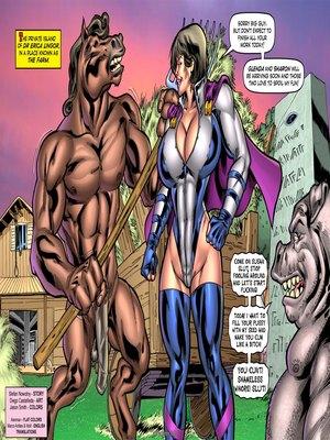 Porn Comics - Alien Orgy Farm- Superheroine Porncomics