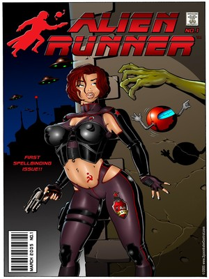 Porn Comics - Alien Runner- Spacebabe Central Porncomics