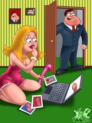 Porn Comics - American Dad- No More Dildos! Cartoon Comics
