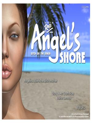 Porn Comics - Angelina Jolie- Angel's Shore 3D Porn Comics