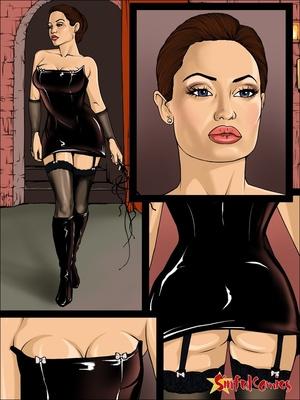 Porn Comics - Angelina Jolie- Brad Behind closed doors Adult Comics