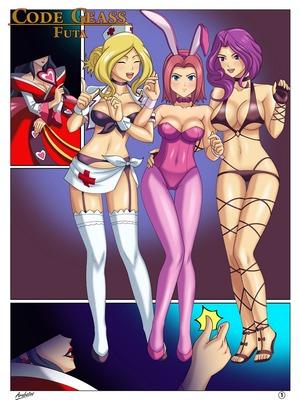 Porn Comics - Arabatos- Code Geass Futa Adult Comics