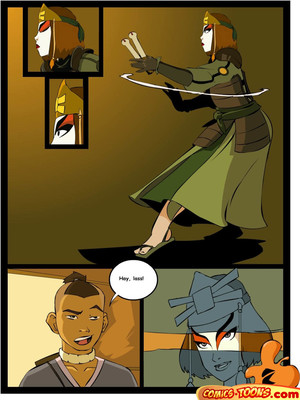 Avatar Last Airbender- Sex in The School Adult Comics
