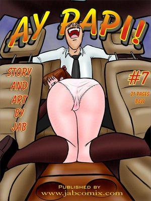 Porn Comics - Ay Papi 7  (Jab Comix)