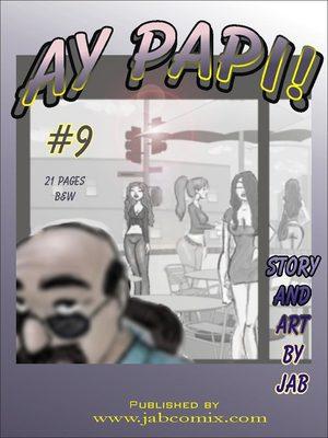 Porn Comics - Ay Papi 9  (Jab Comix)