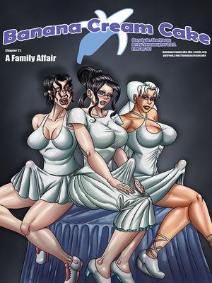 Porn Comics - Banana Cream Cake 21- Family Affair Porncomics