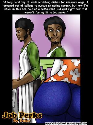 Big Girl Love Luvin- Job Perks,Duke Honey Interracial Comics