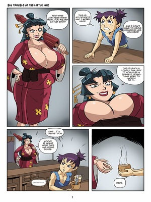Porn Comics - Big Trouble at the Little Inn Adult Comics