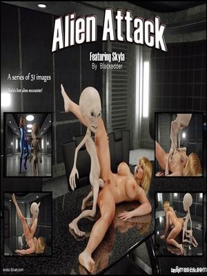 Porn Comics - Blackadder- Alien Attack  (3D Porn Comics)
