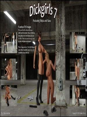 Blackadder- Dickgirls 07 3D Porn Comics