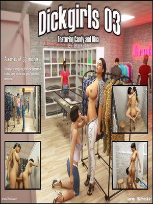 Blackadder- Dickgirls 3 3D Porn Comics