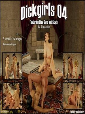 Porn Comics - Blackadder- DickGirls 4 3D Porn Comics