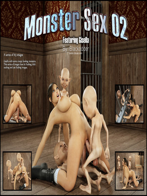 Blackadder- Monster Sex 02  (3D Porn Comics)