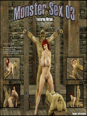 Blackadder- Monster Sex 03  (3D Porn Comics)