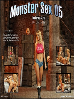 Blackadder- Monster Sex 05  (3D Porn Comics)