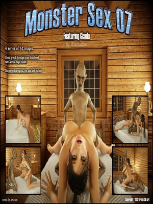 Blackadder- Monster Sex 07  (3D Porn Comics)