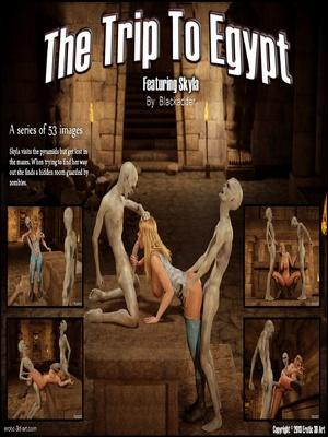 Porn Comics - Blackadder- The Trip to Egypt  (3D Porn Comics)
