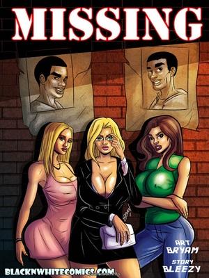 Porn Comics - BlacknWhite- Missing  (Interracial Comics)