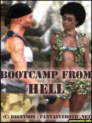 Porn Comics - Bootcamp From Hell  (Interracial Comics)