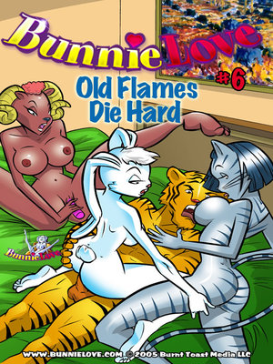 Porn Comics - Bunnie Love 6-Old Flames Die Hard  (Furry Comics)