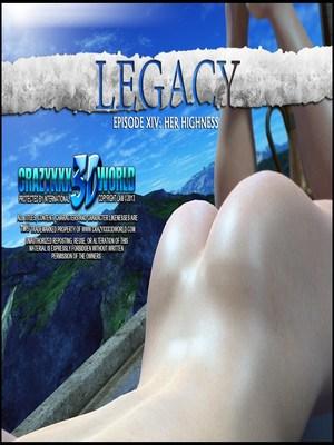 Porn Comics - CrazzyXXX3DWorld- Legacy -Your Highness Episode 14  (3D Porn Comics)