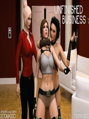 DeTomasso – Unfinished Business 3D Porn Comics