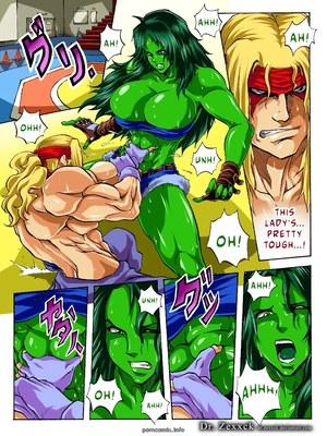 Porn Comics - DR.Zexxck- Alex vs. She Hulk  (Porncomics)