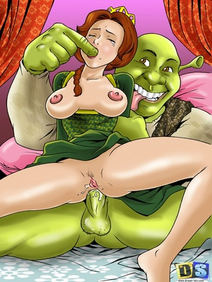 Porn Comics - Drawn Sex- Shrekus Dreamland Cartoon Comics