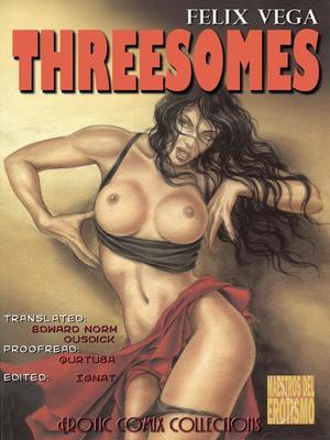 Porn Comics - EroticArt- Threesomes- Felix Vega  (Adult Comics)