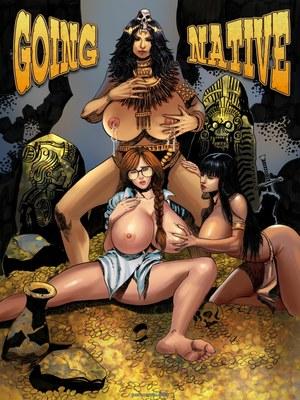 Porn Comics - Expansionfan – Going Native 1 Adult Comics