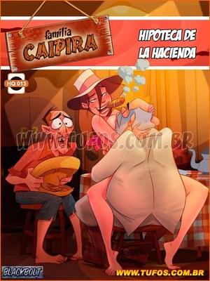 Porn Comics - Familia Caipira 13 (Spanish)-Tufos Incest Comics