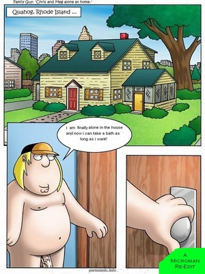 Porn Comics - Family Guy- Chris and Meg Alone at Home Incest Comics