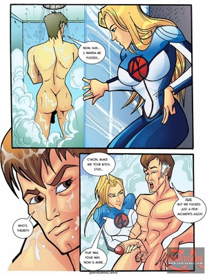 Porn Comics - Fantastic 4- A Real Four Adult Comics
