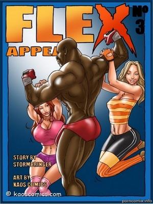 Flex Appeal 3 Interracial Comics