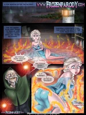 Porn Comics - Frozen Parody-4 Adult Comics