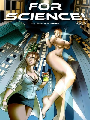 Porn Comics - Giantess- For Science 02  (Porncomics)