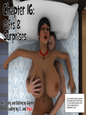 Gifts & Surprises- Giginho16  (3D Porn Comics)