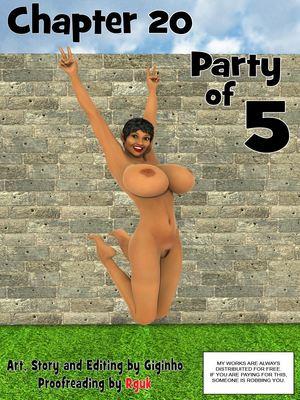 Porn Comics - Giginho – Chapter 20 – Party Of 5 3D Porn Comics