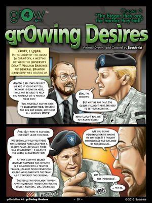 Porn Comics - GrOw4- Growing Desire  (Adult Comics)