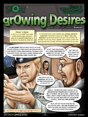 Porn Comics - Growing Desires- grOw 4.5 Adult Comics