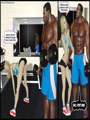 Gym Fuck- Darklord Porncomics