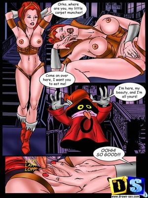 He-Man- Fucking Monsters Adult Comics