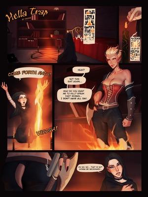 Porn Comics - Hella Trap- InCase Adult Comics